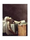 Death of Marat Art