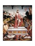 The Resurrection Kunst af Fernando Gallego