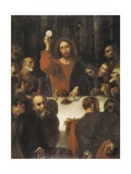 The Holy Supper Prints by Juan Ribalta