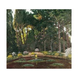 Garden (Arbucies) Prints by Santiago Rusinol i Prats