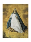 Immaculate Conception Posters by Francisco de Zurbaran