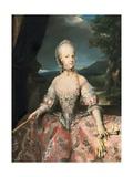 Maria Carolina De Lorena, Queen of Naples Giclee Print by Anton Raphael Mengs