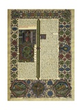 Bible of Borso D'Este Poster by Pietro Paolo Marone