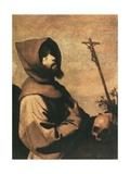 St. Francis Posters by Francisco de Zurbaran