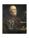 Venetian General Sebastian Veniero Prints by  Tintoretto