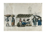 Fruit Sellers in Lapa (Rio De Janeiro) Prints by Henry Chamberlain