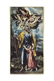 Saint Joseph and Child Jesus Art by  El Greco