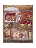 Krishna's Dance Prints