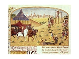 Execution of the Seneschals of the Outskirts Prints by Rufus Quintus Curtius