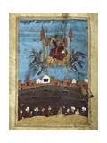 The Magic Carpet', Illustrating a Poem by Hafiz-E Shirazi, 14th C Poster