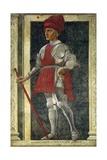 Portrait of Farinata Degli Uberti Plakater af Andrea Del Castagno