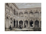Palace of the Dukes of Infantado Giclee Print by Jenaro Perez Villaamil