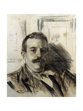 Portrait of Raimon Casellas Art by Ramon Casas i Carbo