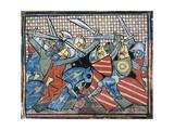 Battle Scene of Danish Defeat Prints