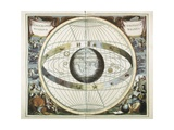 Representation of the Universe as Tycho Brahe Prints by Andreas Cellarius