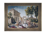 Picnic in Countryside Prints by Francisco Bayeu Y Subias