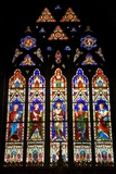 Stained Glass Windows of Christ Church Cathedral Posters
