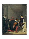 Don Pedro of Toledo Kissing the Sword of Henri IV of France Giclee Print by Jean-Auguste-Dominique Ingres