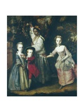 Children of Edward Holden Cruttenden Plakat av Sir Joshua Reynolds