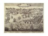 City and Harbor of Cadiz Prints