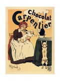 Advertisement of the Chocolate Brand 'Carpentier' (1895) Posters by Henri Gerbault