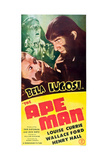 The Ape Man Posters