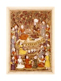 Kay Kavus Orders His Soldiers to Capture Rostam Prints