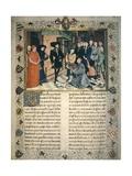 First Crusade Giclée-Druck von Rogier van der Weyden