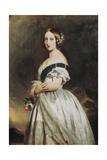 Queen Victoria Giclee Print by Franz Xavier Winterhalter