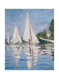 Regatta at Argenteuil Pôsters por Claude Monet