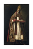St. Gregory the Great Prints by Francisco de Zurbaran