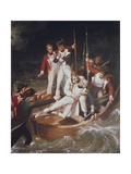 Nelson Wounded at Tenerife Giclee Print by Richard Westall