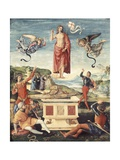 Resurrection of Christ Prints by  Raphael