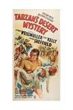 Tarzan's Desert Mystery Posters