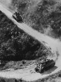 Allied Tanks Use the Burma Road for the First Time in Two Years Photo