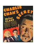 Charlie Chan's Secret Poster