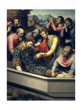 Burial of Saint Stephen Art by Juan De juanes