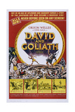 David and Goliath Posters