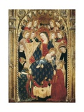 Altarpiece of the Archbishop Don Sancho De Rojas Print by Juan Rodriguez de Toledo