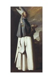 St. Hugh, Bishop of Grenoble Posters by Francisco de Zurbaran