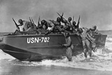 African American Sailors Training for Amphibious Landings at Near Norfolk Photo