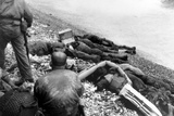 Dead U.S. Soldiers Omaha Beach on D-Day Photo