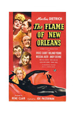 The Flame of New Orleans Posters