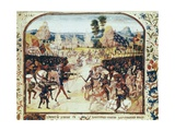 Battle of Poitiers, Hundred Years' War Posters by Jean Froissart