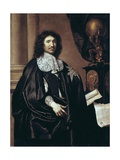 Jean-Baptiste Colbert, French Statesman (1619-83) Prints by Claude Lefebvre