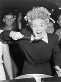 Betty Hutton Visits a Chow Hall with Sailors and Marines in the Marshall Islands During World War 2 Photo