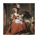 Marie Antoinette and Her Children Kunstdrucke von Elisabeth Vigee-Lebrun