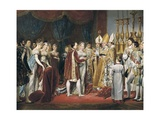 Marriage of Napoleon I and Marie Louise Giclee Print by Georges Rouget