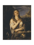 Saint Mary Magdalen Posters af Titian (Tiziano Vecelli)