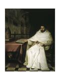 Fray Alonso De Sotomayor Y Caro Poster von Juan de Valdes Leal